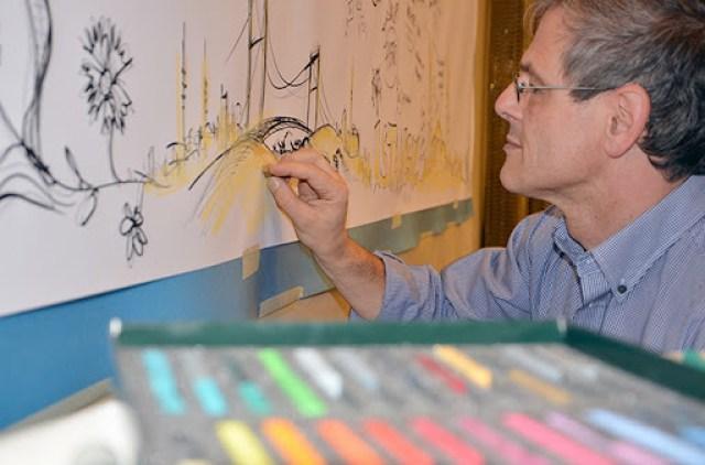 Graphic Recording von Wolfgang Irber, visuelle Protokolle
