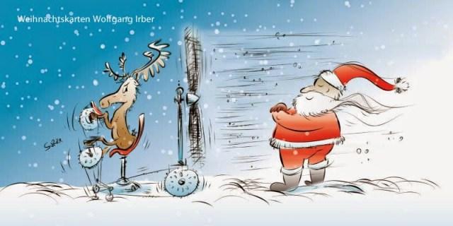 Das Ende der Weihnachtskartensaison 1