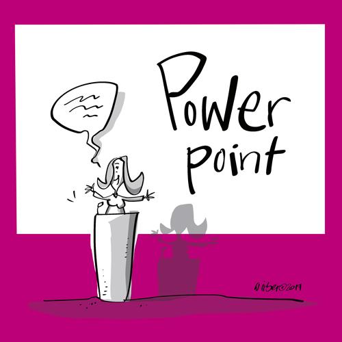 Schreiben in Powerpoint