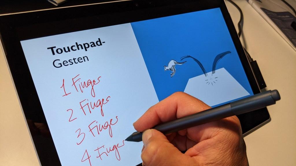 Ein Plädoyer für mehr Stift in der digitalen Welt - die Verwendung des Surface Pen im Büroalltag 6