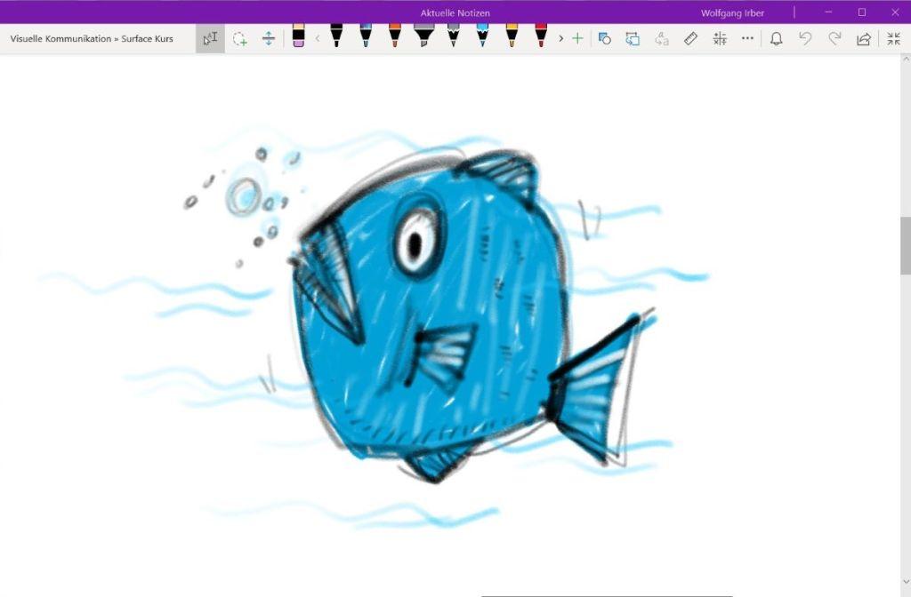 Zeichnen auf dem Microsoft Surface 13