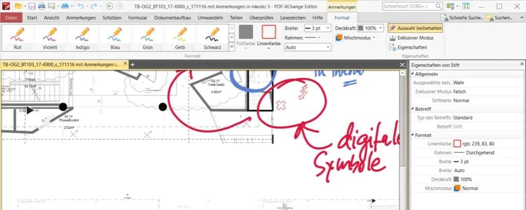 Ein PDF mit dem digitalen Stift bearbeiten: komplizierter als man denkt 11