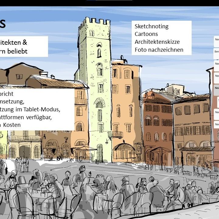 Spezialkurs: Digitales Zeichnen auf dem Microsoft Surface oder ähnlichen Windows-Geräten 9