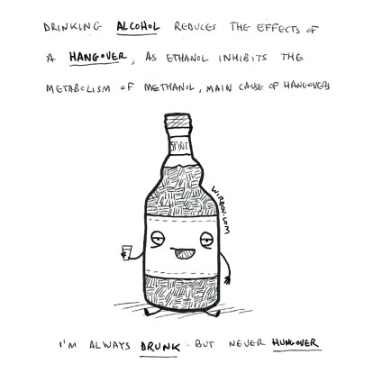 science, curious, curiosity, fun, funny, humor, alcohol, hangover, drink, physiology
