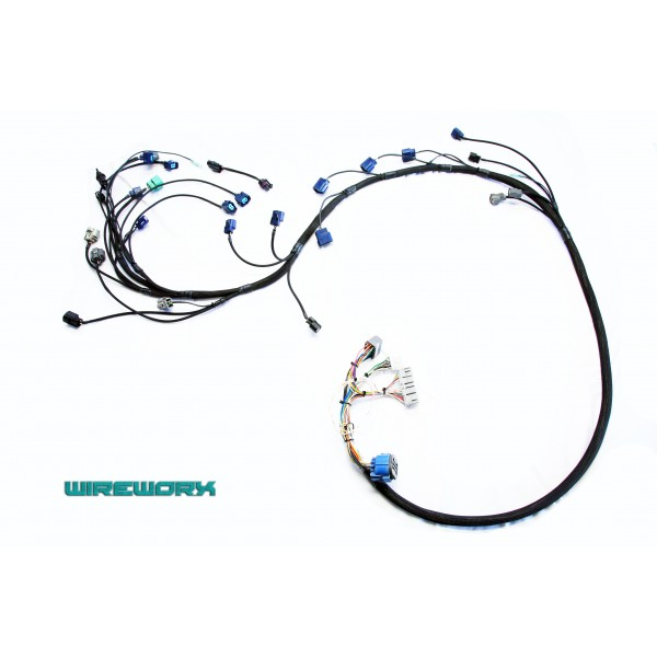 Plug and play engine harness and conversion harness Bundle