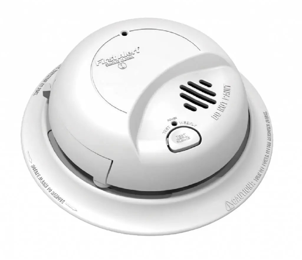 hight resolution of take the smoke alarm off and check the date of manufacturing on the back if it is more than eight years old you would need to replace the smoke alarm as