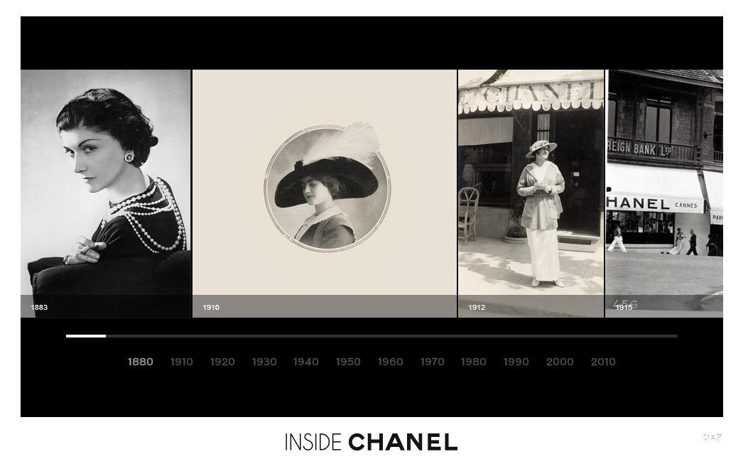 シャネルの歴史を解き明かすスペシャルサイト「Inside CHANEL」がオープン   WIRED.jp