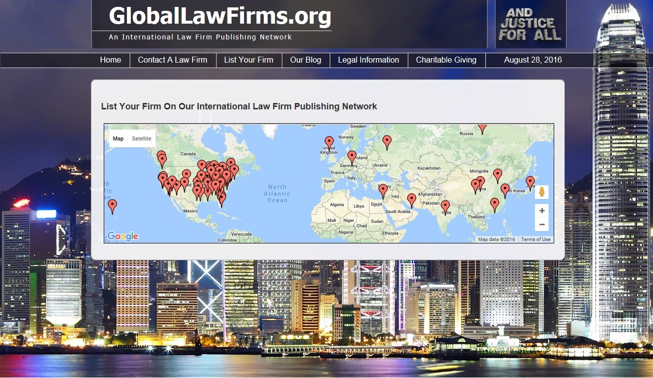Global Law Firms screenshot