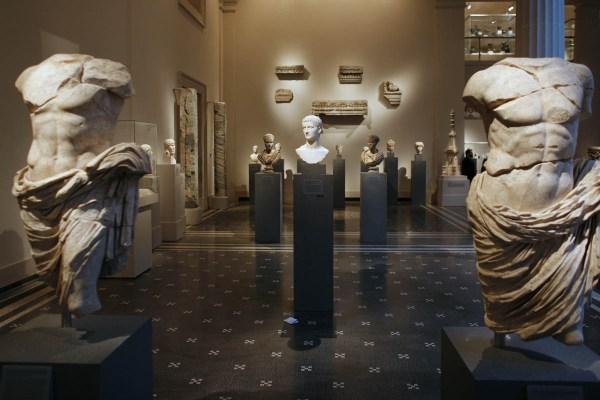 Metropolitan Museum Of Art Sculpture Court Wired York