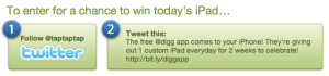 Digg iPad Contest