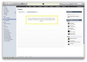 iTunes-Facebook