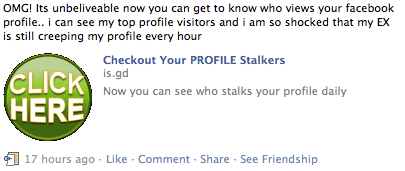 Facebook : Alternative Stalker