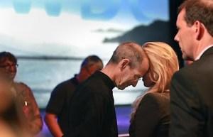 Steve Jobs and Laurene Powell Jobs