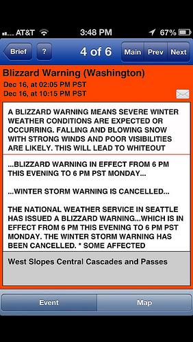 weather alert usa demo