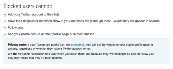 Twitter Block Policy, Dec 13