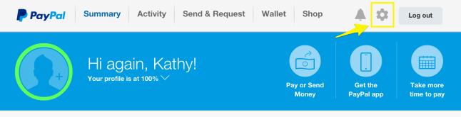 PayPal - settings