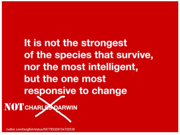 not charles darwin