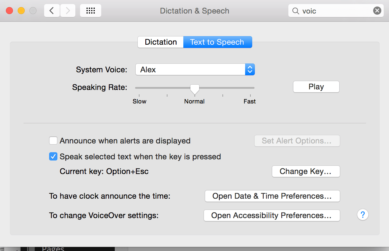 Text-to-speech on a Mac, a writer's aid - WiredPen