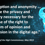 UN Encryption Quote