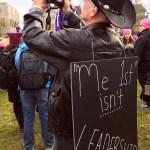 signs - Seattle Women's March