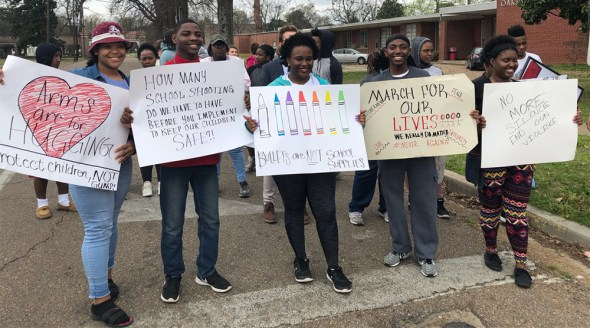 Historical context surrounding March for Our Lives movement
