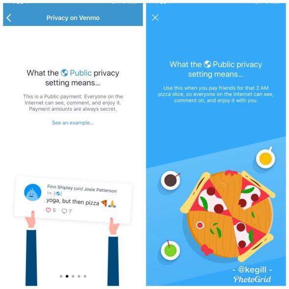 PayPal - Venmo public settings