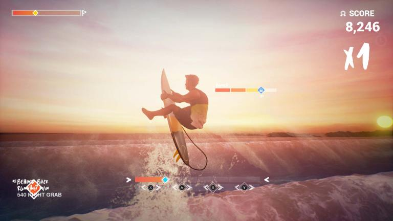 Take on legendary waves in Surf World Series