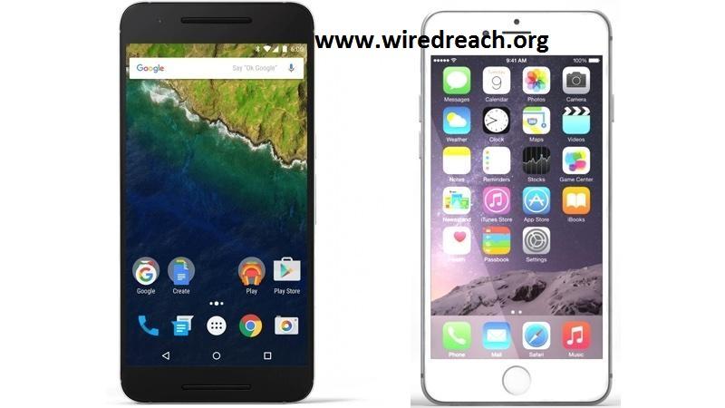Nexus 6P Vs iPhone 6S