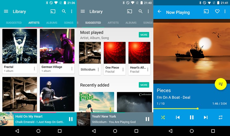 music players for android