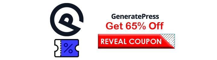 Generatepress discount code