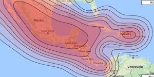 Sky Mexico 79W Coverage Map on Satbeams.com