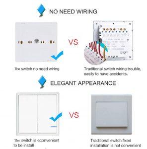 kinetic vs traditional switch key