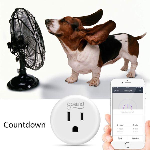 Gosund WiFi Smart Plug Outlet appliances
