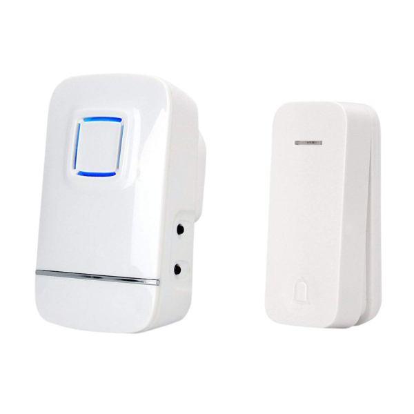 kinetic doorbell white