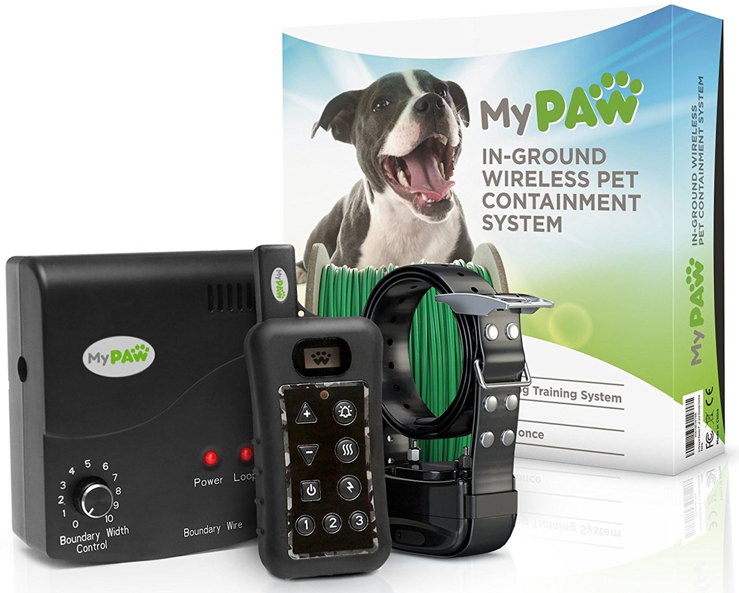 my paw inground electric pet containment system review featured