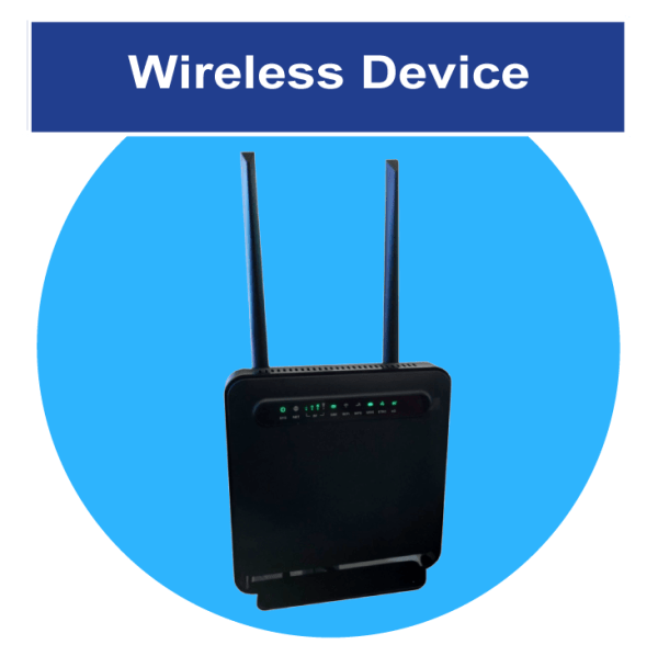 Wireless Router for High-Speed Rural Internet