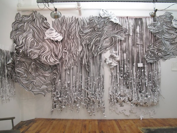 Paper Art Wire Moon