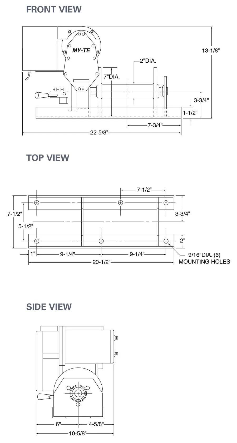 medium resolution of max electric winch hoist ac36b