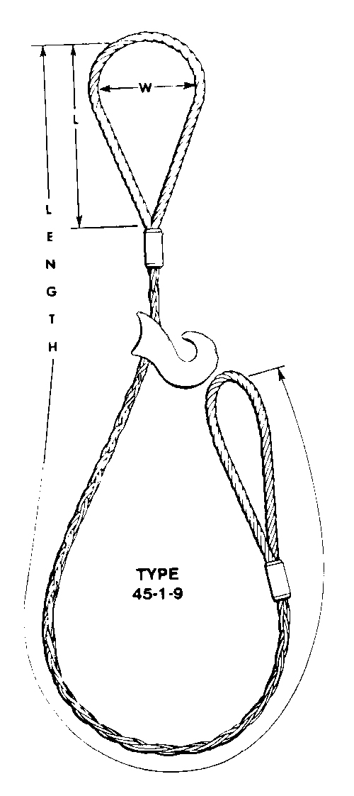 8-Part Braided Choker Slings