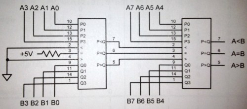 small resolution of block diagram of 4 bit comparator