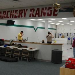 The Archery Range had many visitors today!