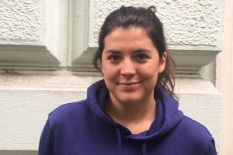 Fußball-Kommentatorin Anna Lallitsch