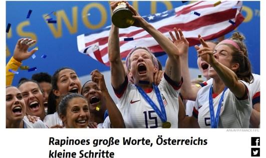 Artikel zur Fußball-WM 2019 von Birgit Riezinger