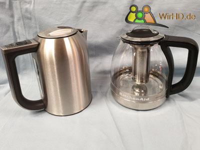 Wasserkocher und Teekocher aus Glas