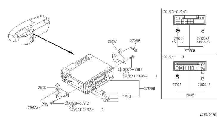 DIAGRAM Nissan Parts Diagram Model 28185 8z500 FULL