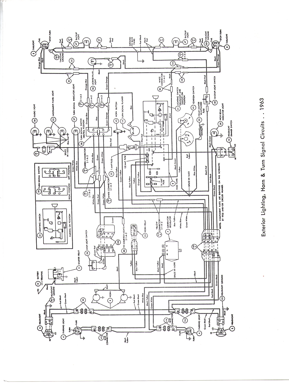 1969 Ford Headlight Switch Wiring Diagram Diagram Base
