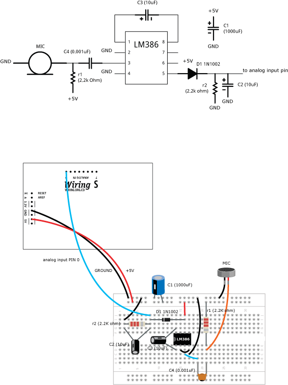 Microphone \ Learning \ Wiring