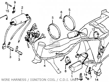 1978 Honda Hawk Cb400ii Wiring Diagram