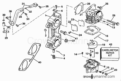 1979 Evinrude 140 8pin Wiring Diagram