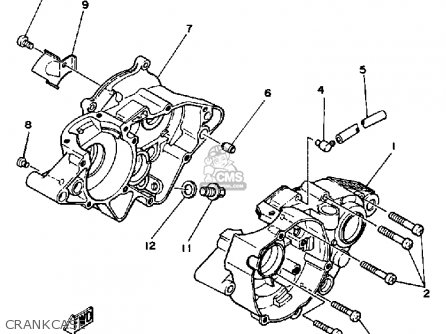 1979 Yz 100 Wiring Diagram
